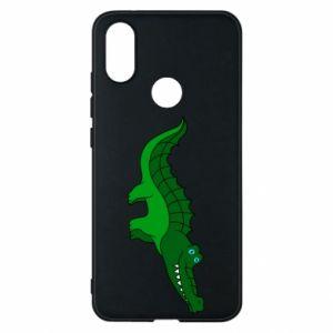 Etui na Xiaomi Mi A2 Blue-eyed crocodile