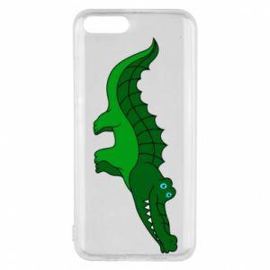 Etui na Xiaomi Mi6 Blue-eyed crocodile