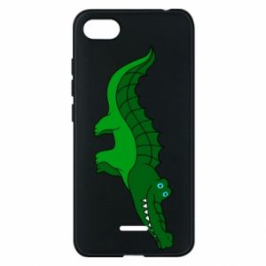 Etui na Xiaomi Redmi 6A Blue-eyed crocodile
