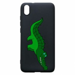 Etui na Xiaomi Redmi 7A Blue-eyed crocodile