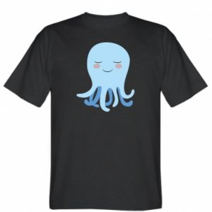 T-shirt Blue Jellyfish - PrintSalon