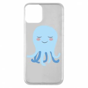 Phone case for iPhone 11 Blue Jellyfish - PrintSalon
