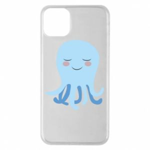 Phone case for iPhone 11 Pro Max Blue Jellyfish - PrintSalon