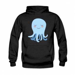 Bluza z kapturem dziecięca Blue Jellyfish