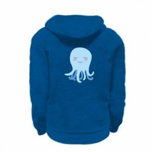 Bluza na zamek dziecięca Blue Jellyfish
