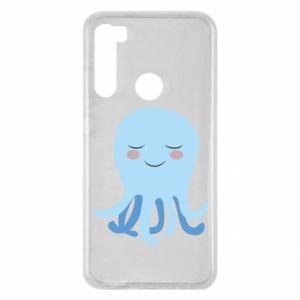 Etui na Xiaomi Redmi Note 8 Blue Jellyfish
