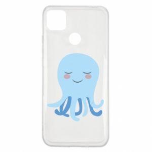 Etui na Xiaomi Redmi 9c Blue Jellyfish
