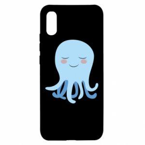 Etui na Xiaomi Redmi 9a Blue Jellyfish
