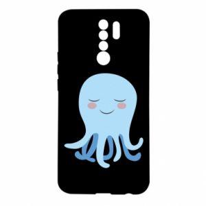 Etui na Xiaomi Redmi 9 Blue Jellyfish