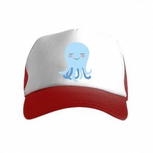 Czapka trucker dziecięca Blue Jellyfish