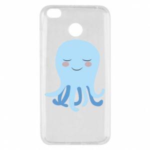 Etui na Xiaomi Redmi 4X Blue Jellyfish