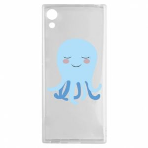 Etui na Sony Xperia XA1 Blue Jellyfish