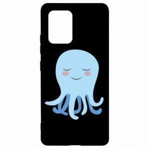 Etui na Samsung S10 Lite Blue Jellyfish