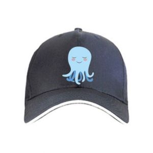 Cap Blue Jellyfish - PrintSalon