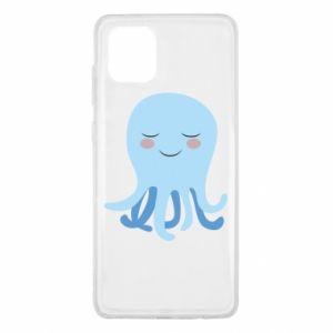 Etui na Samsung Note 10 Lite Blue Jellyfish