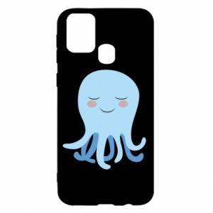 Etui na Samsung M31 Blue Jellyfish