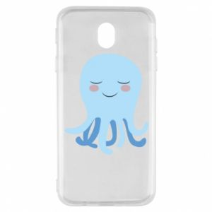 Etui na Samsung J7 2017 Blue Jellyfish