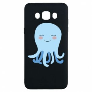 Etui na Samsung J7 2016 Blue Jellyfish