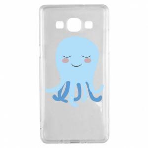 Etui na Samsung A5 2015 Blue Jellyfish