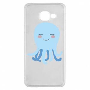 Etui na Samsung A3 2016 Blue Jellyfish