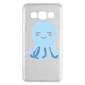 Etui na Samsung A3 2015 Blue Jellyfish