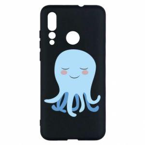 Etui na Huawei Nova 4 Blue Jellyfish
