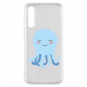 Etui na Huawei P20 Pro Blue Jellyfish