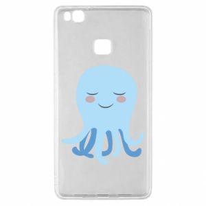 Etui na Huawei P9 Lite Blue Jellyfish