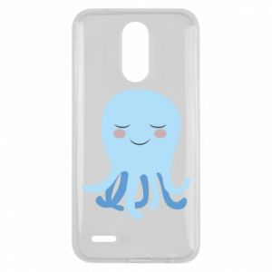 Etui na Lg K10 2017 Blue Jellyfish