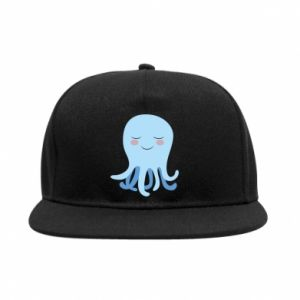 SnapBack Blue Jellyfish