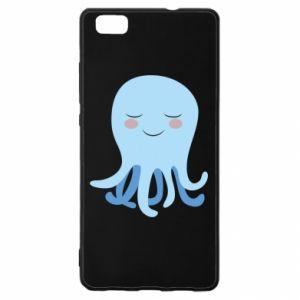Etui na Huawei P 8 Lite Blue Jellyfish