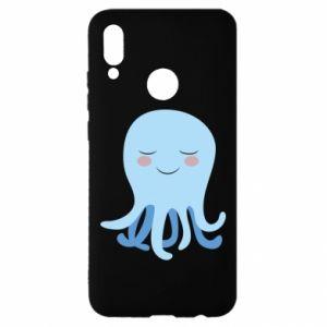 Etui na Huawei P Smart 2019 Blue Jellyfish