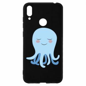 Etui na Huawei Y7 2019 Blue Jellyfish