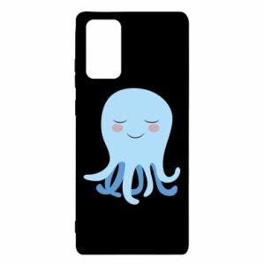 Etui na Samsung Note 20 Blue Jellyfish