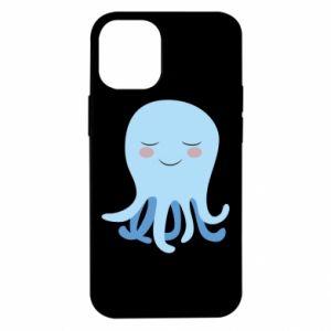 Etui na iPhone 12 Mini Blue Jellyfish