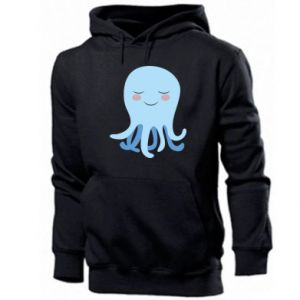 Bluza z kapturem męska Blue Jellyfish