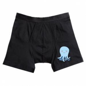 Boxer trunks Blue Jellyfish - PrintSalon