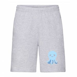Men's shorts Blue Jellyfish - PrintSalon