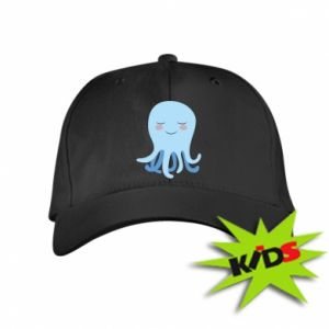 Kids' cap Blue Jellyfish - PrintSalon
