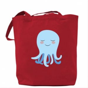 Bag Blue Jellyfish - PrintSalon