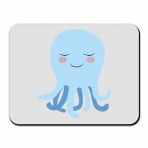 Mouse pad Blue Jellyfish - PrintSalon