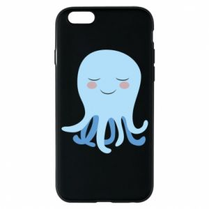 Phone case for iPhone 6/6S Blue Jellyfish - PrintSalon