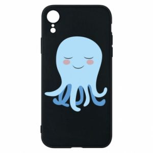 Phone case for iPhone XR Blue Jellyfish - PrintSalon