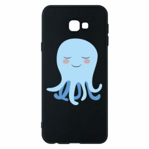 Phone case for Samsung J4 Plus 2018 Blue Jellyfish - PrintSalon