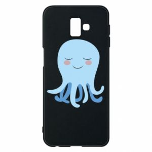 Phone case for Samsung J6 Plus 2018 Blue Jellyfish - PrintSalon