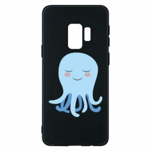Phone case for Samsung S9 Blue Jellyfish - PrintSalon