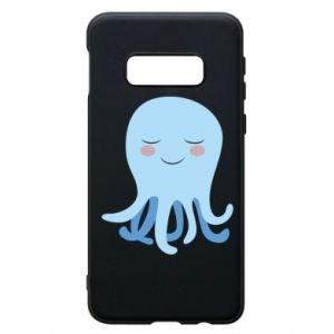 Phone case for Samsung S10e Blue Jellyfish - PrintSalon