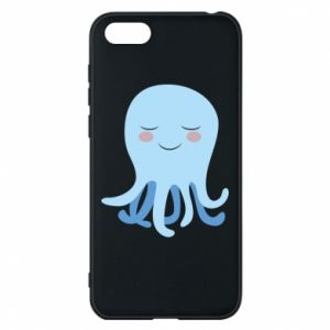 Phone case for Huawei Y5 2018 Blue Jellyfish - PrintSalon