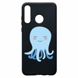 Phone case for Huawei P30 Lite Blue Jellyfish - PrintSalon