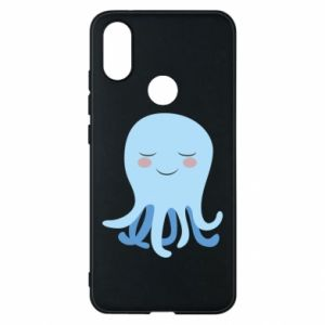 Phone case for Xiaomi Mi A2 Blue Jellyfish - PrintSalon